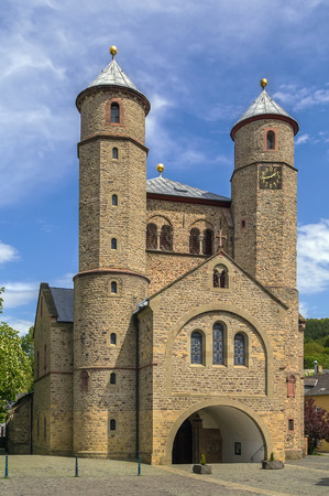 edifice: St. Chrysanthus and Daria Church is the oldest edifice in Bad Munstereifel. It was rebuilt in 1100, Germany