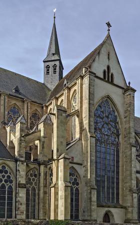 cistercian: Altenberger Dom (St. Mary Assumption church) is church in Gothic style in former Cistercian monastery in Altenberg Stock Photo