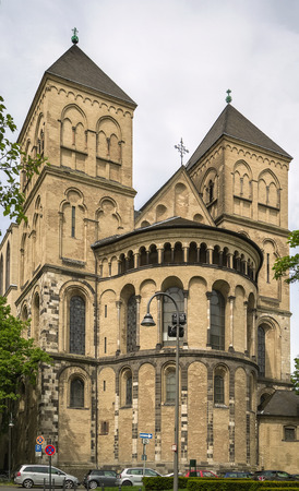 consecrated: St. Kunibert is the youngest of the Twelve Romanesque churches of Cologne and was consecrated 1247