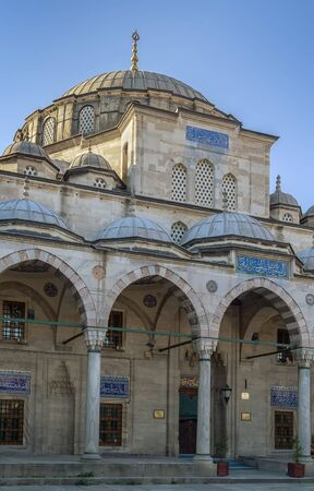 mehmed: The Sokollu Mehmet Pasha Mosque is an Ottoman mosque located in Istanbul historic center, Turkey Stock Photo