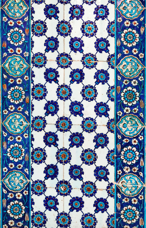 mosques: the Turkish ceramic tiles from Rustem Pasha Mosque, Istanbul