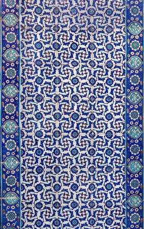 mosaics: the Turkish ceramic tiles from Rustem Pasha Mosque, Istanbul