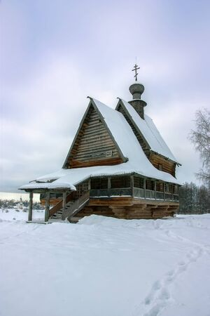 transported: The wooden St. Nicholas church has been transported to Suzdal, Russia