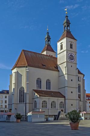 parish: New Parish Church (Neupfarrkirche) is Protestant church in the old town of Regensburg, Germany