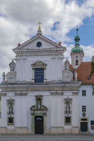 order in: St. Joseph church (Karmelitenkirche) is  the home of the Carmelite Order in Regensburg, Germany