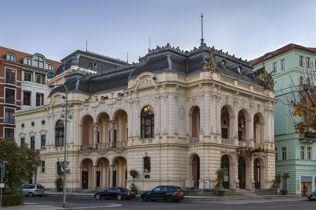 karlovy: The Karlovy Vary theatre was built in the years 1884-1886 in Neo-Baroque style. Czech republic