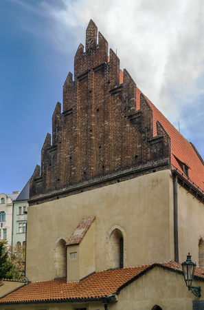 old and new: The Old New Synagogue situated in Prague, is Europes oldest active synagogue.