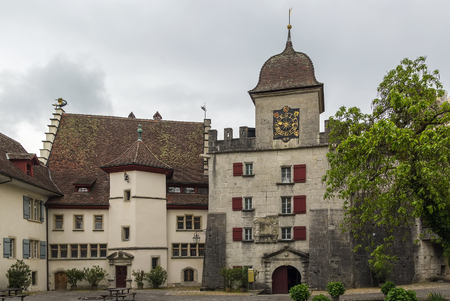 bastion: East bastion in Lenzburg castle was constructed in 1646, Switzerland