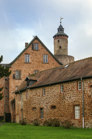 12th century: Budingen Castle begins its history from the 12th century, Germany Editorial
