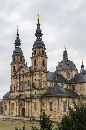 constitutes: Fulda cathedral constitutes the high point of the Baroque district of Fulda, and is a symbol of the town, Germany