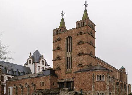 limburg: The Catholic monastery church St. Mary in Limburg, Germany