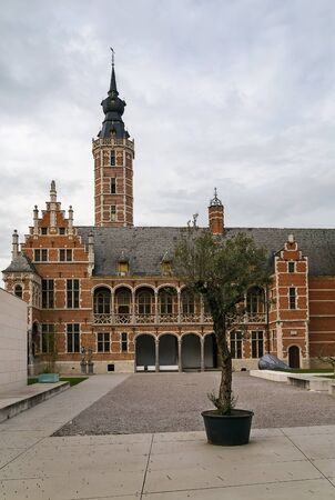 16th century: Large town house was built in the 16th century for Hieronymus van Busleyden, Mechelen, Belgium