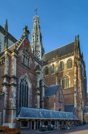 protestant: The Grote Kerk or St.-Bavokerk is a Protestant church and former Catholic cathedral located on the central market square in the Dutch city of Haarlem