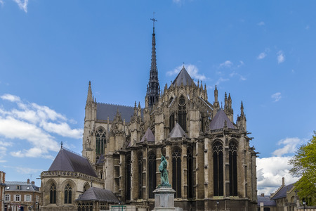 Amiens Cathedral is a Roman Catholic cathedral.  The cathedral was built between 1220 and c.1270 and has been listed as a since 1981, France