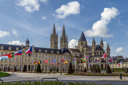 The Abbey of Saint-Etienne is a former Benedictine monastery and town hall in the French city of Caen, Normandy, dedicated to Saint Stephen.