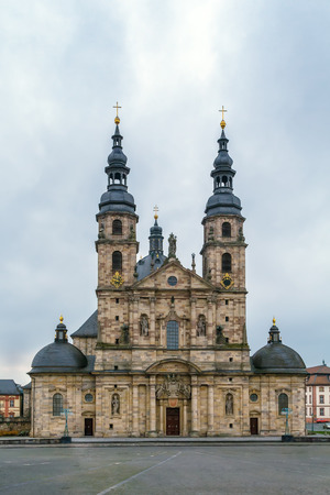 Fulda cathedral constitutes the high point of the Baroque district of Fulda, and is a symbol of the town, Germany