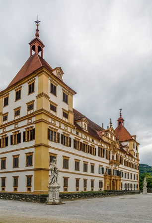 steiermark: Eggenberg Palace in Graz is the most significant Baroque palace complex in Styria, Austria