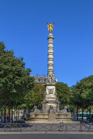 The Fontaine du Palmier (1806-1808) is a monumental fountain located in Paris, France