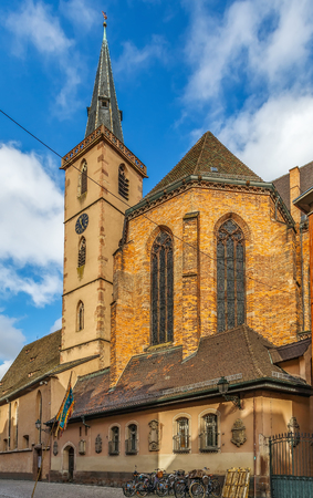 protestant: Saint-Pierre-le-Jeune Protestant Church is one of the most important church buildings of the city of Strasbourg, France