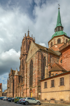 St. Georges Church is a Gothic church in Selestat, Bas-Rhin, Alsace, France.