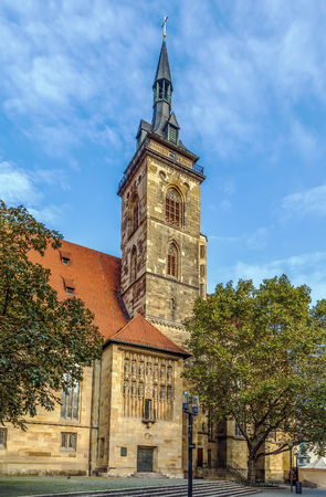 The Stiftskirche (Collegiate Church) is an inner-city church in Stuttgart, the capital of Baden-Wurttemberg, Germany