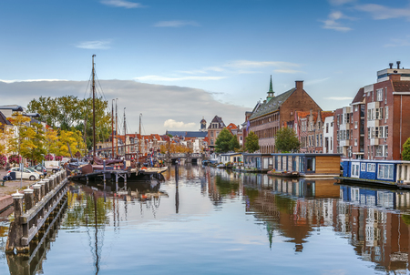 The Galgewater is part of the Old Rhine in the Dutch city of Leiden, and also the name of the street in the center of Leiden along the water.