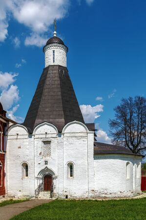 Brusensky Assumption convent - one of the two monasteries on the territory of Kolomna Kremlin, Russia. Church of the Assumption