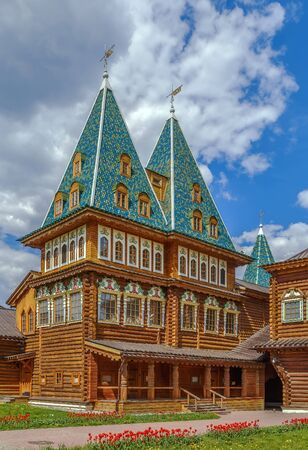 The Wooden Palace of Tsar Alexei Mikhailovich in Kolomenskoye, Moscow