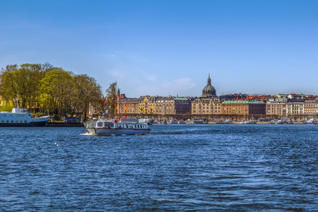 Strandvagen is a boulevard in central Stockholm, Sweden. Completed just in time for the Stockholm Worlds Fair 1897, it quickly became known as one of the most prestigious addresses in town.