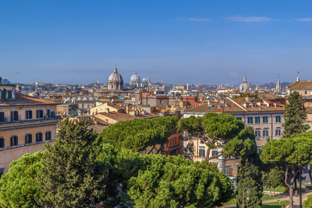 view of Rome from Monument to Victor Emmanuel II, Rome