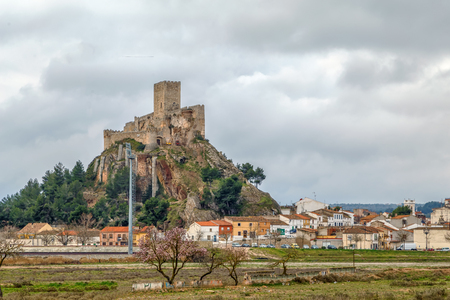 Castle of Almansa is one of the most beautiful and best-preserved castles in Castile-La Mancha, Spain