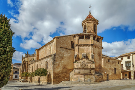 The church of San Pablo is one of the oldest in Ubeda, Spain. It is believed to have been built since the Visigothic period
