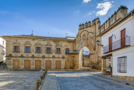 Casa del Populo is 16th-century building in the plateresque style, Baeza, Spain