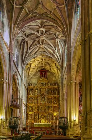 Interior of church of Santa Maria de la Asuncion, Carmona, Spain