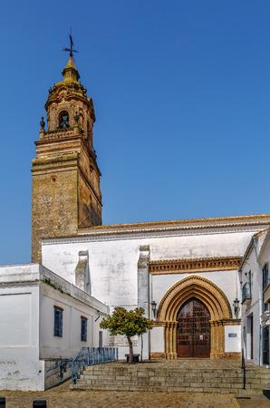 bartolome: Church of San Bartolome (St Bartholomew) is located in the historical center of Carmona, Spain