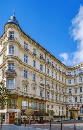 The Grandhotel Pupp is luxury hotel located in Karlovy Vary, Czech Republic. Editorial