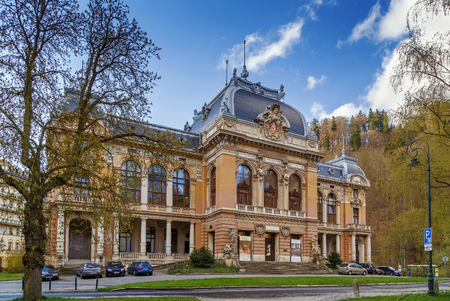 The Imperial Spa was among the most modern and most luxurious establishments of its time. Karlovy Vary, Czech republic
