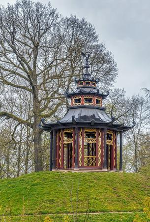 Pavilion in Hermitage garden, Bayreuth, Germany