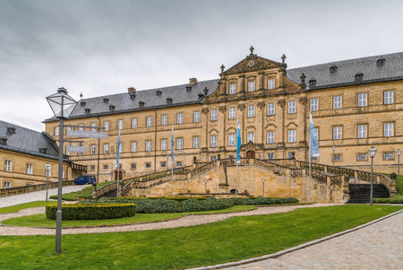 Banz Abbey is a former Benedictine monastery,north of Bamberg, Bavaria, Germany Stock fotó