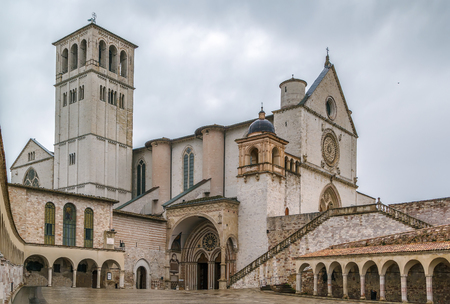 francis: The Papal Basilica of St. Francis of Assisi is the mother church of the Roman Catholic Franciscan Order in Assisi, Italy.
