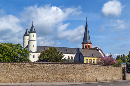 Basilica of Steinfeld Abbey was built between 1142 and 1150 by the Premonstratensians as one of the earliest vaulted churches in Germany Lizenzfreie Bilder