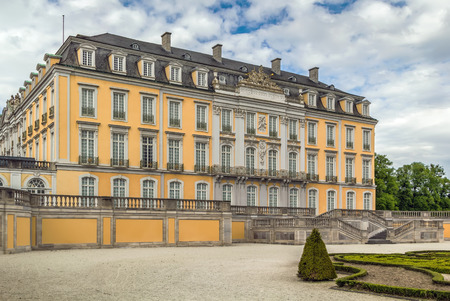 Augustusburg Palace was built at the beginning of the 18th century by the Archbishop-Elector of Cologne, Bruhl, Germany Editöryel