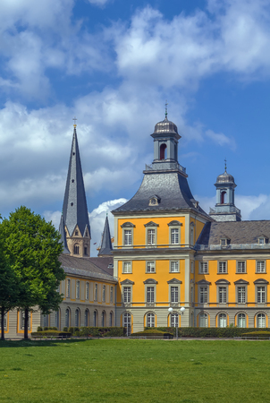 Former  Prince palace, now is main building of the University of Bonn, Germany