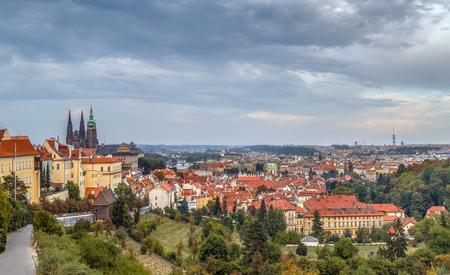 View of Prague from Strahov Monastery, Czech republic