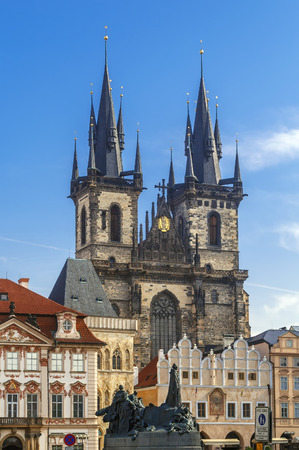Church of Our Lady before Tyn, is a dominant feature of the Old Town of Prague, Czech Republic, and has been the main church of this part of the city since the 14th century. Redakční