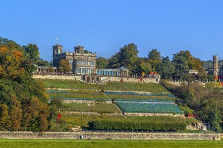 Lingner Castle, originally Villa Stockhausen is one of the three castles of Elbe in Dresden.