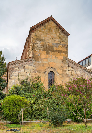 The Anchiskhati Church or the Church of the Virgin Mary is located in old town and is considered the oldest temple in Tbilisi, Georgia