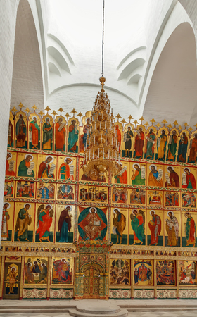 Solovetsky Monastery is a fortified monastery located on the Solovetsky Islands in the White Sea, Russia. Iconostasis of Transfiguration Cathedral