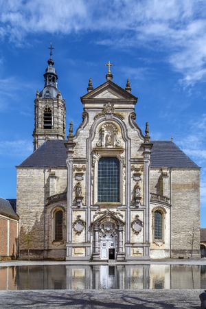 Baroque church in Averbode Abbey, finished in 1672, Belgium