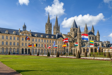 The Abbey of Saint-Etienne is a former Benedictine monastery in the French city of Caen, Normandy, dedicated to Saint Stephen.